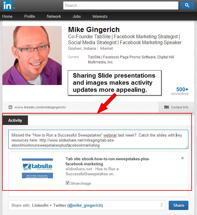 Adding Digital Media To Your Linkedin Profile