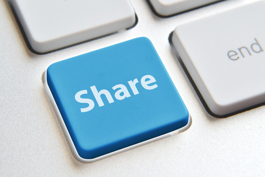 social media content shareable