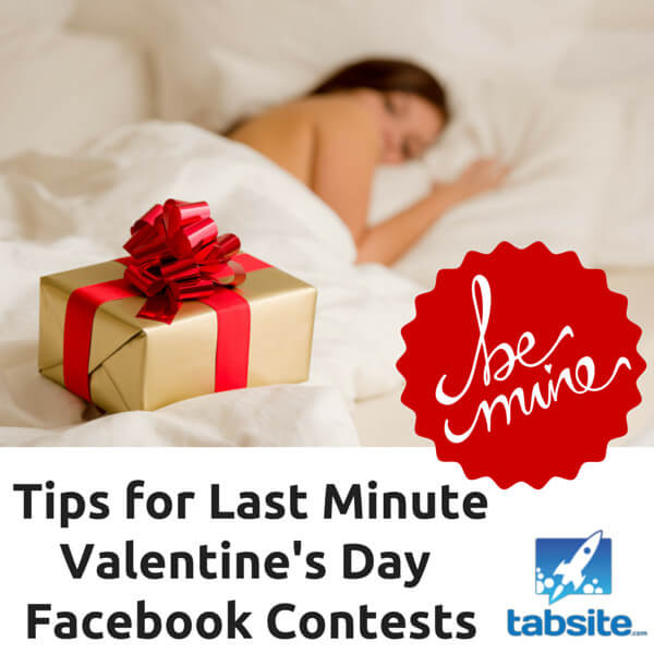 tips for last minute valentine 39 s day facebook contests. Black Bedroom Furniture Sets. Home Design Ideas