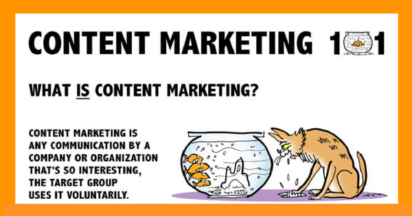 Content Marketing 101 explained with Kittens [Infographic] - 315